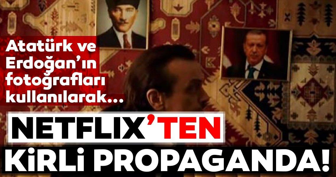 Netflix Türkiye'yi karalamaya devam ediyor