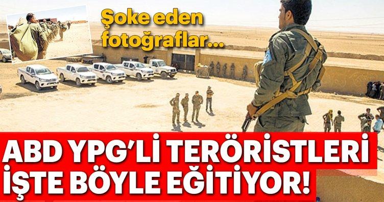 Son Dakika Abd Ypg Li Teroristlere Egitmeye Devam Ediyor
