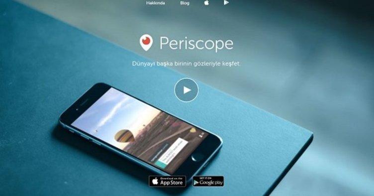 Periscope'a Türkiye'de dava açıldı