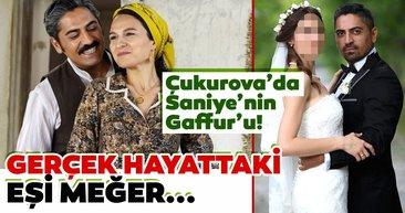 Bir Zamanlar Çukurova'da Saniye'nin Gaffur'u ama... Çukurova'nın Gaffur'u Bülent Polat'ın gerçek hayattaki eşi meğer...