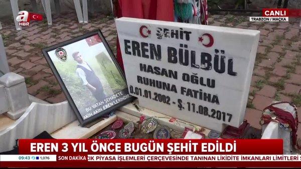 Eren Bülbül şehit edilişinin 3. yılı   Video