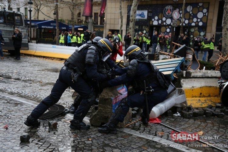 Fransa'da eylemler büyüdü! Bilanço ağırlaştı...