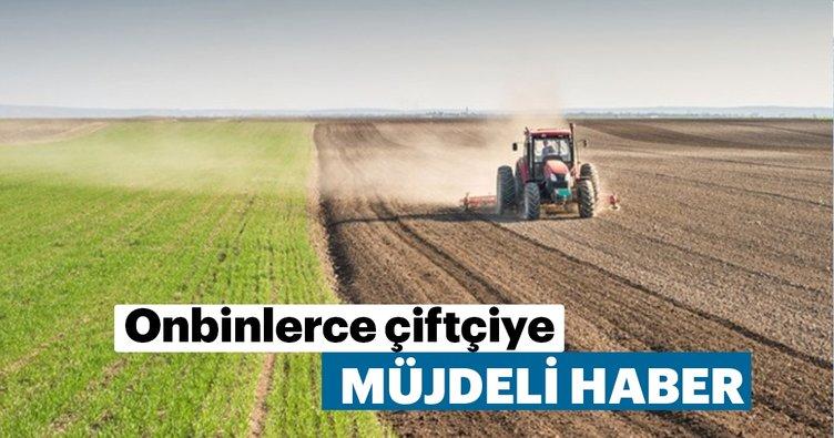 3.4 milyar metrekare arazi çiftçiye kiralanıyor