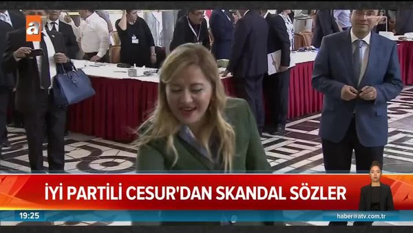 İYİ Partili Aylin Cesur'dan skandal sözler | Video