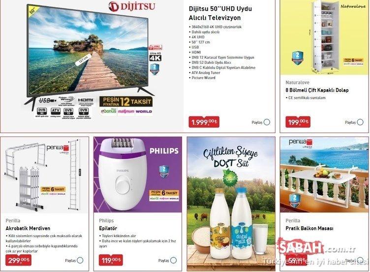 BİM 7 Ağustos 2020 Cuma aktüel ürünler kataloğu yayınlandı! BİM aktüel ürünler listesi raflardaki yerini aldı