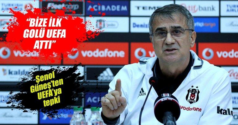 Şenol Güneş: Kazanan Lyon, kaybeden Beşiktaş