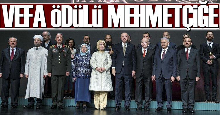 Vefa ödülü Mehmetçiğe