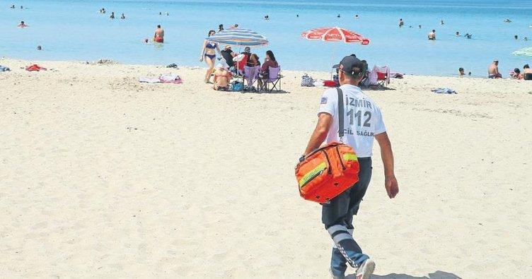 'Plaj 112'si işbaşında