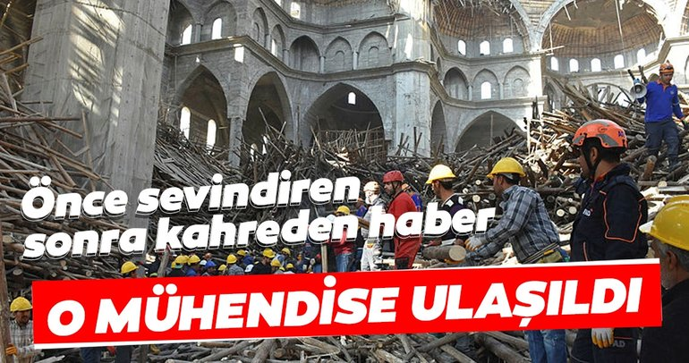 Gaziantep'te çöken iskelenin altında kalan mühendis yaşamını yitirdi