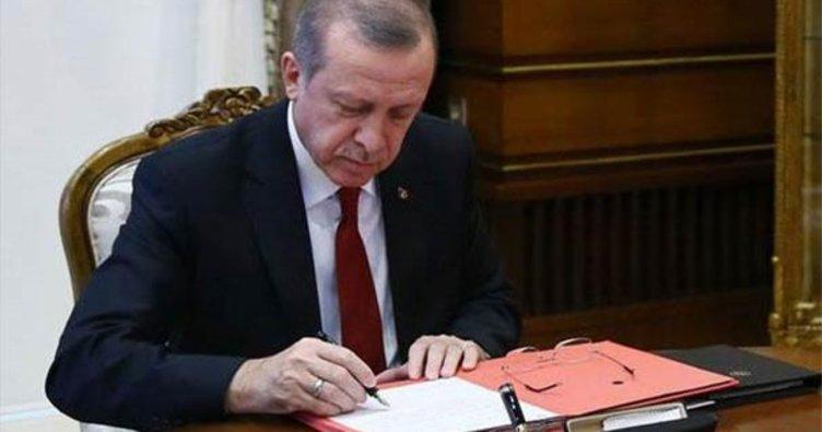 Cumhurbaşkanı Erdoğan üç üniversiteye rektör atadı