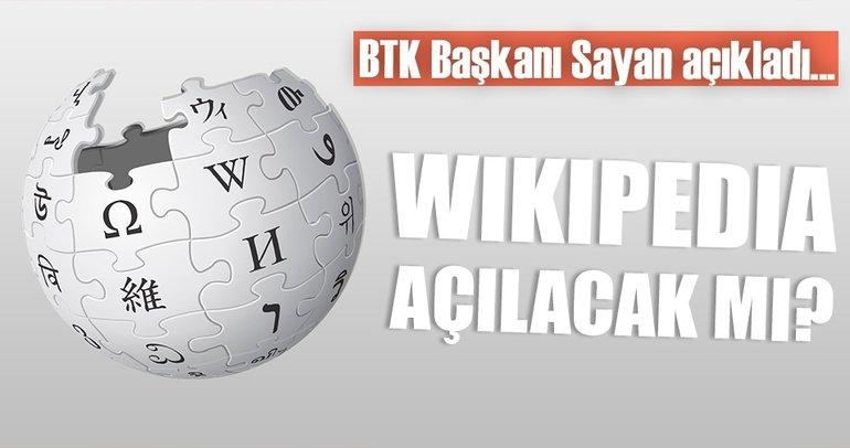 Son dakika: BTK'dan flaş Wikipedia açıklaması