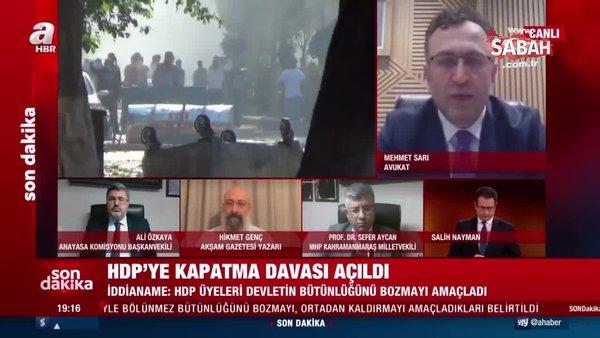 Son dakika haberi: HDP'ye kapatma davası açıldı! İddianame AYM'ye gönderildi | Video