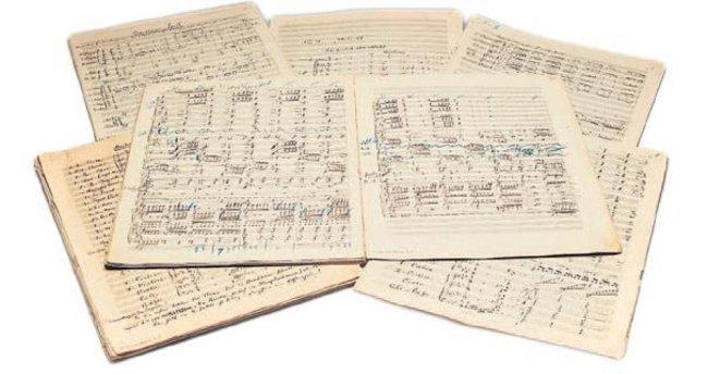 Mahler'in notaları rekor fiyata satıldı
