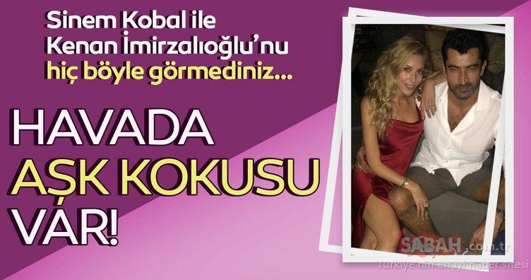 Sinem Kobal ile Kenan İmirzalıoğlu'nun aşk kokan 'Sevgiler Günü' paylaşımı sosyal medyaya damga vurdu!