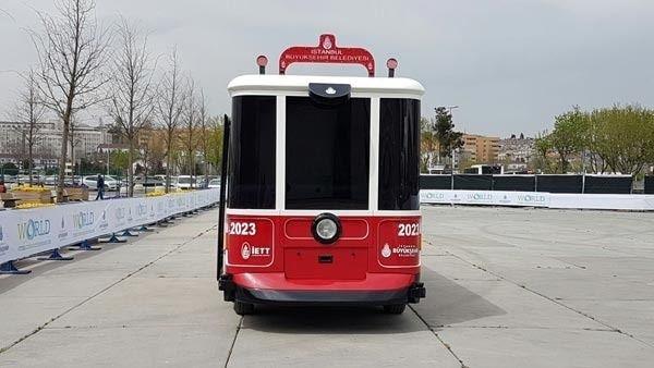 İşte İETT'nin sürücüsüz aracı