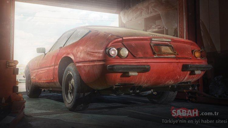 Garajdan servet çıktı! Servet değerindeki terk edilmiş araçlar