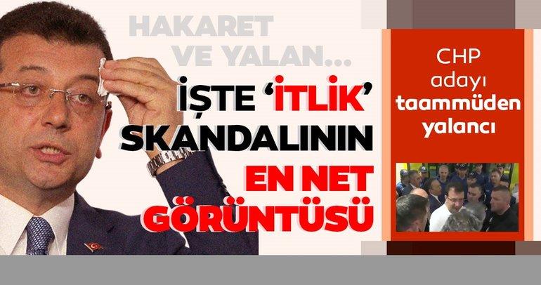 Son dakika haber: CHP'nin adayı İmamoğlu'nun yalanı ortaya çıktı! İşte itlik skandalının en net görüntüsü