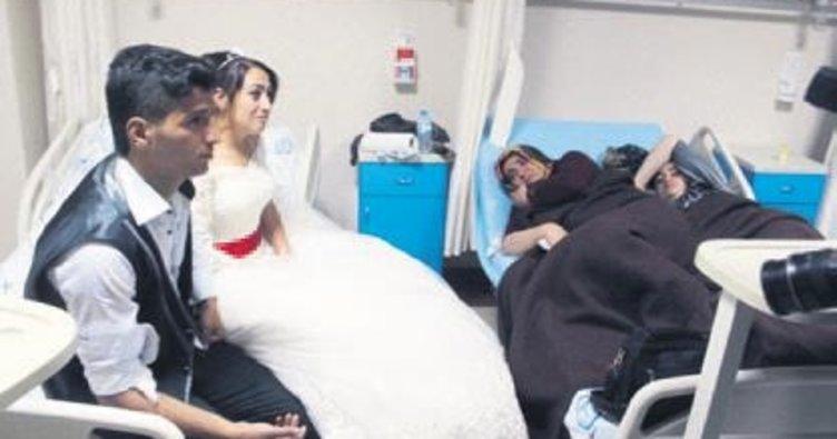 Düğünden hastaneye! 143 kişi zehirlendi