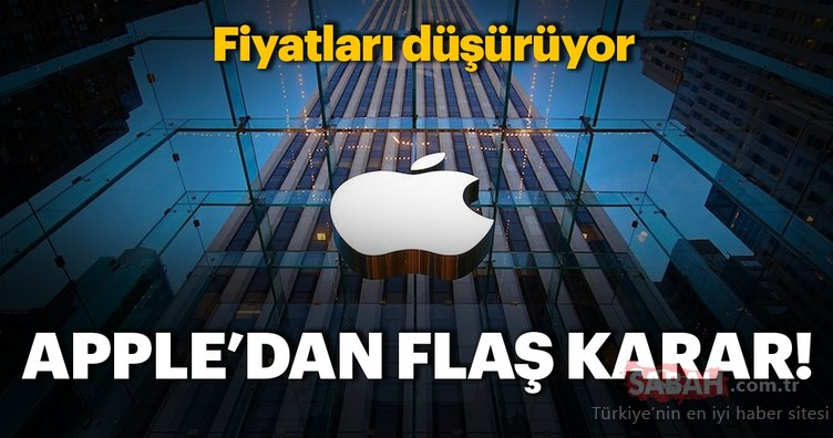 Apple'dan flaş karar! Fiyatları düşürüyor