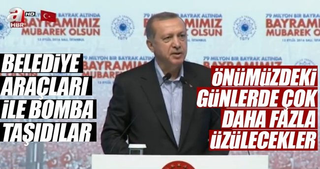 Cumhurbaşkanı Erdoğan: Bunlar belediyecilik yapmadılar