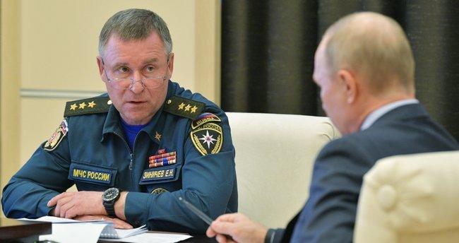Son dakika: Rusya Acil Durumlar Bakanı Yevgeniy Ziniçev tatbikatta hayatını kaybetti - Son Dakika Haberler