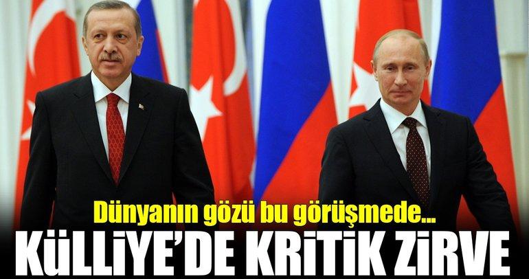 Rusya Devlet Başkanı Putin Türkiye'de!