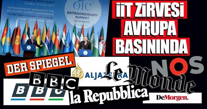 İTT Zirvesi Avrupa basınında