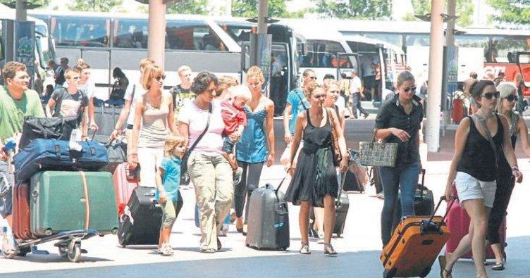 Turist sayısı 2 milyonu geçti