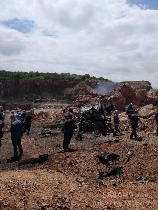 Son dakika haberi: Sakarya'daki patlama nasıl oldu? Olay yerinden şok görüntüler