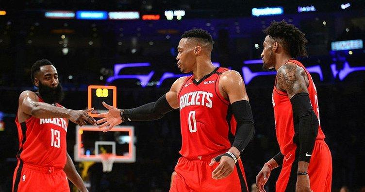 Lakers Rockets maçında kazanan konuk ekip! Maç sonucu: Los Angeles Lakers 111 - 121 Houston Rockets