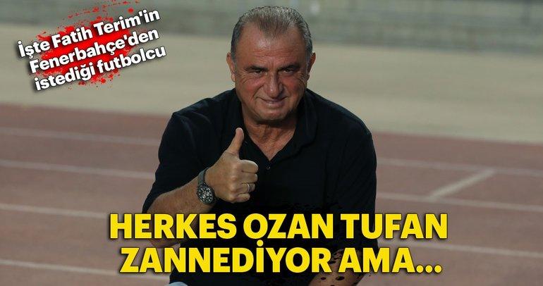 İşte Fatih Terim'in Fenerbahçe'den istediği futbolcu