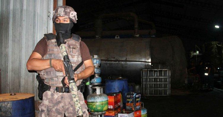 Sultangazi'de kaçak akaryakıt operasyonu!
