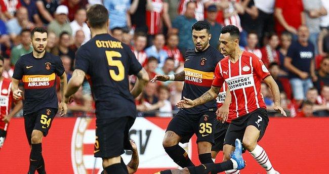 Son dakika: Galatasaray'a Hollanda'da ağır yenilgi! PSV avantajı kaptı...