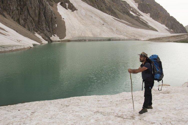 Mercan Vadisi'nin buzul gölleri yazın başka güzel