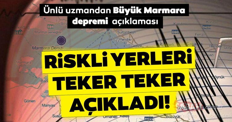 Son Dakika Haberi: Ünlü uzmandan korkutan Büyük İstanbul depremi uyarısı! 3 ile 6 metre yüksekliğinde...