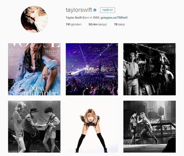 Yeni kraliçe Taylor Swift