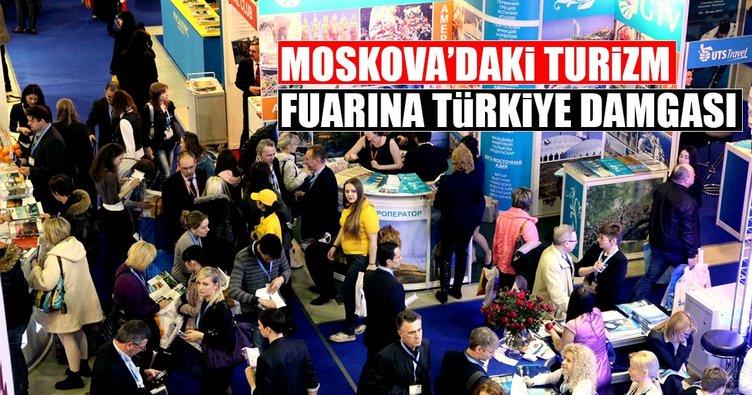 Moskova Turizm Fuarı'nda en büyük standı Türkiye açacak