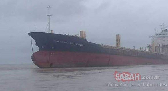 Myanmar karaya oturan hayalet geminin sırrı çözüldü