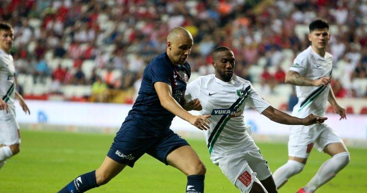 Antalyaspor: 0 - Yukatel Denizlispor: 2