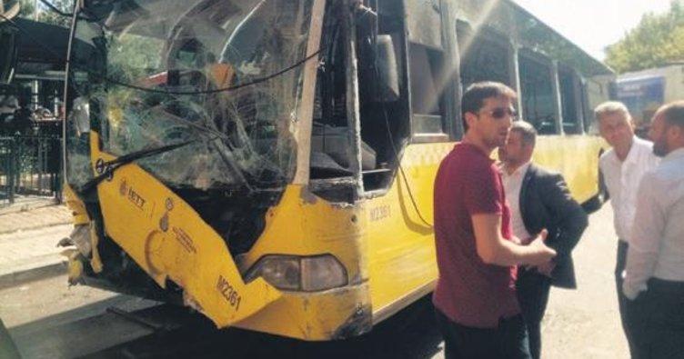 Otobüs dehşet saçtı: 1 ölü 3 yaralı