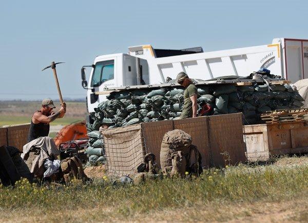 Suriye sınırından skandal görüntüler! ABD askerleri...