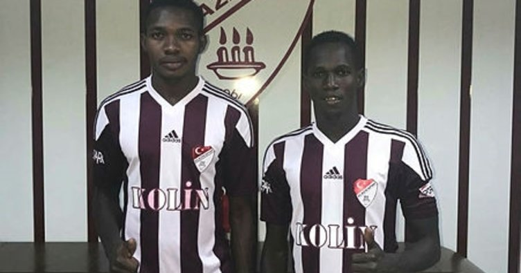 Elazığspor'da Bagayoko ve Diarra'dan 3 yıllık imza