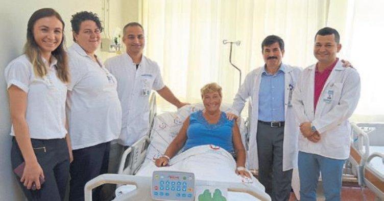 Valentina Türk doktora güvendi