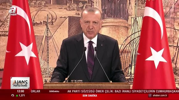 Cumhurbaşkanı Erdoğan'dan Bulgaristan Hak ve Özgürlükler Kurultayı'na mesaj | Video