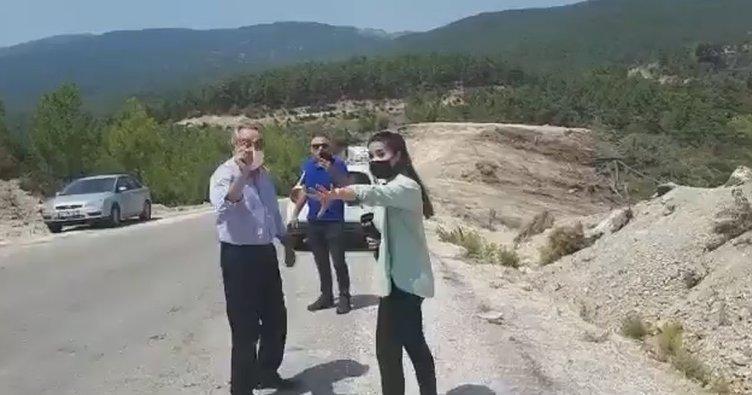 Algı operasyonları ortaya çıkınca küplere bindiler! CHP'li Rafet Zeybek'in şoförü basın emekçilerinin üzerine yürüdü