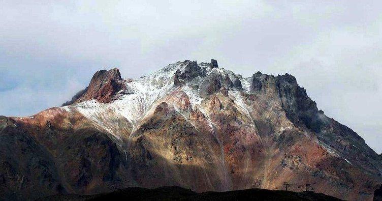 İlk kar Erciyes ve Kaçkarlar'da