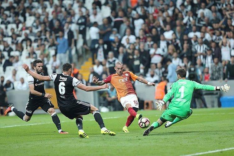 Sneijder'den ilginç Vodafone Arena yorumu