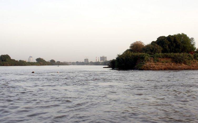 Mavi Nil ile Beyaz Nil'in birleştiği yer: Hartum