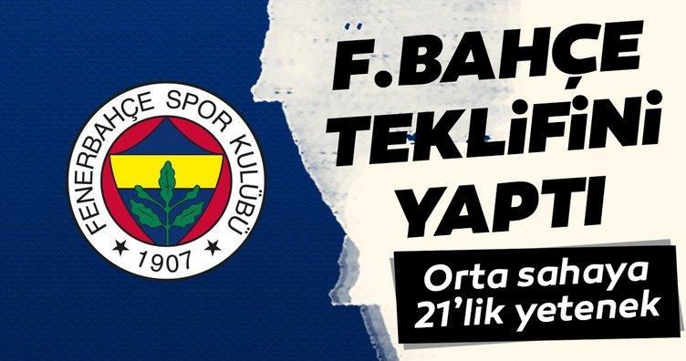 Fenerbahçe teklifini yaptı! Orta sahaya 21'lik yetenek