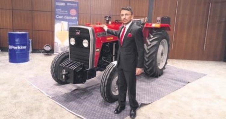 Traktöre eski kadroyla Türk imzası